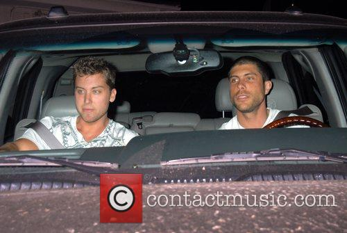 Lance Bass and His New Boyfriend 3