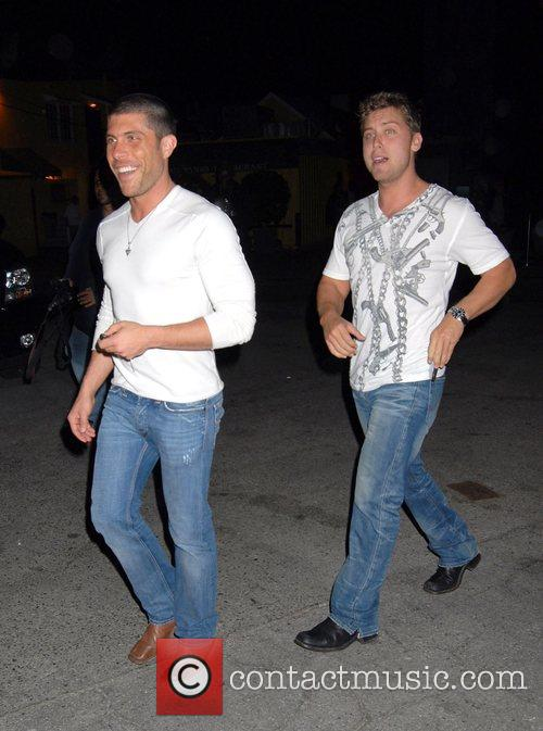 Lance Bass and His New Boyfriend 4