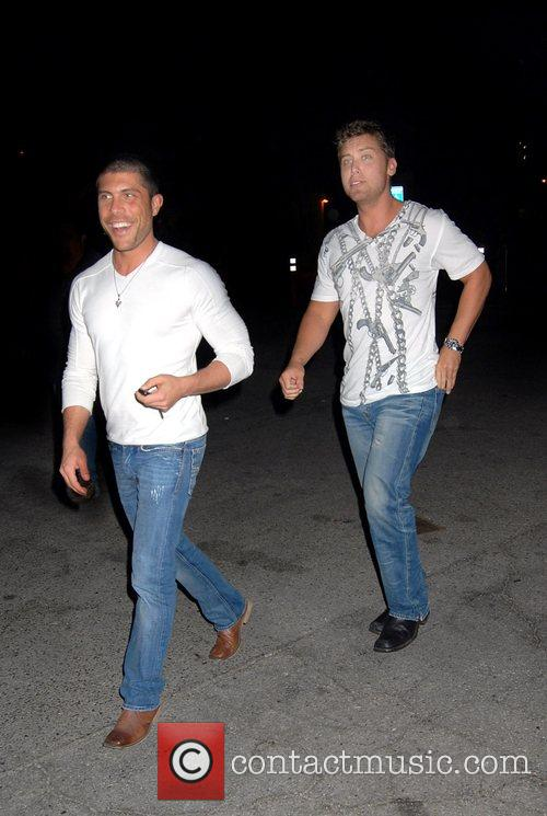Lance Bass and His New Boyfriend 1