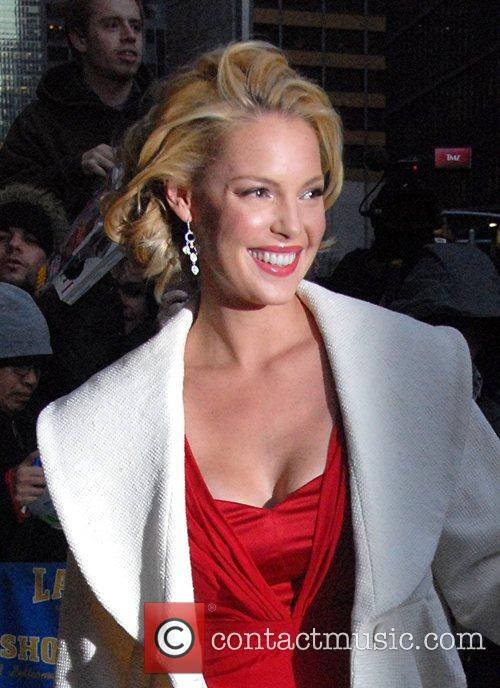 Katherine Heigl and David Letterman 1