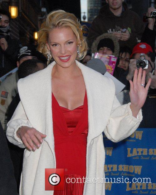 Katherine Heigl and David Letterman 3
