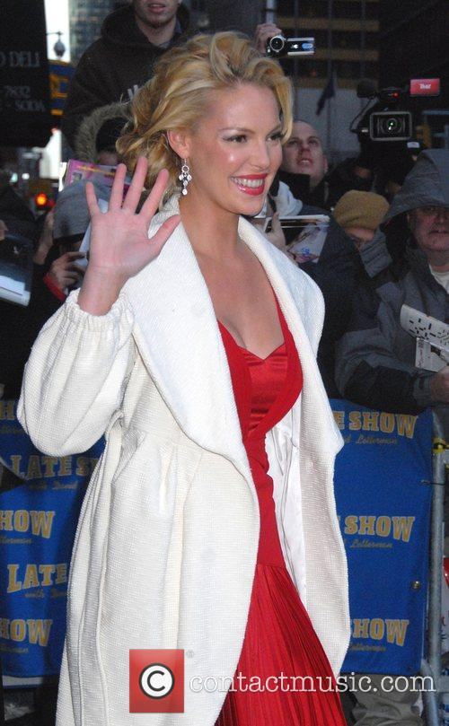 Katherine Heigl and David Letterman 4