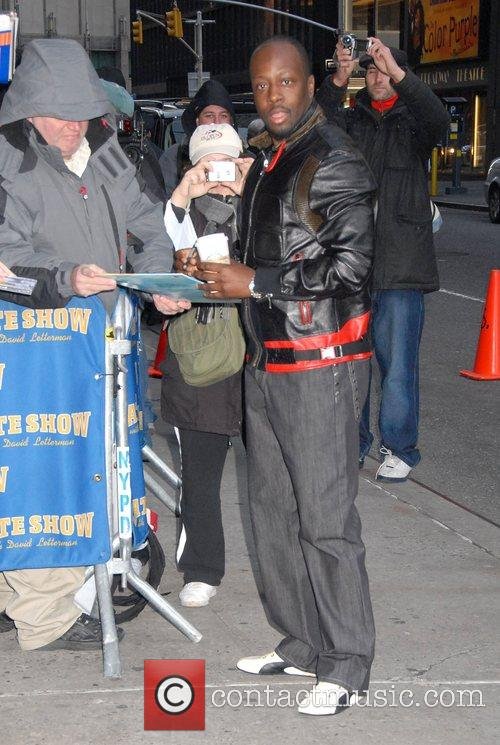 Wyclef Jean and David Letterman 4