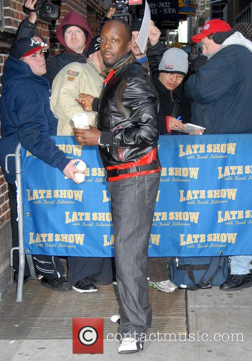 Wyclef Jean and David Letterman 1
