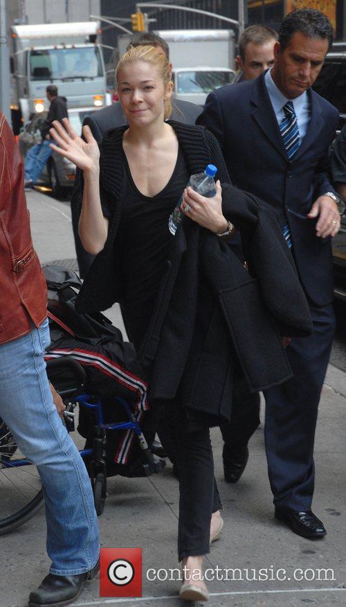 LeAnn Rimes and David Letterman 12