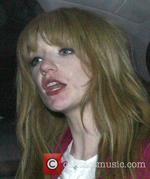 Nicola Roberts leaving Mahiki nightclub at 4am! Nicola...