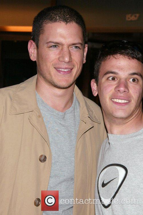 Wentworth Miller in town for the FOX TV...
