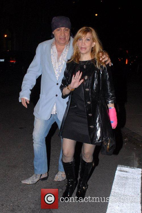 Steven Van Zandt, Maureen Van Zandt Out and About In Manhattan 2