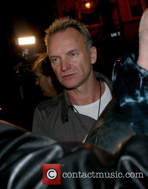 Sting Celebrities outside the Waverly Inn  New...