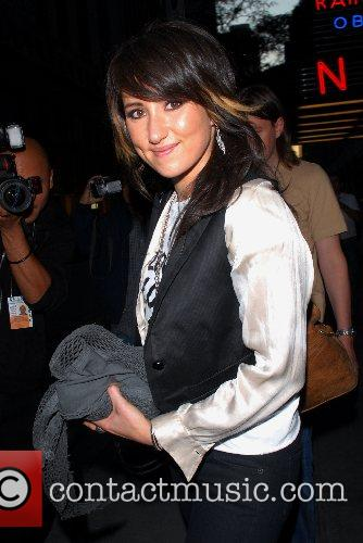 KT Tunstall outside NBC Studios after an appearance...