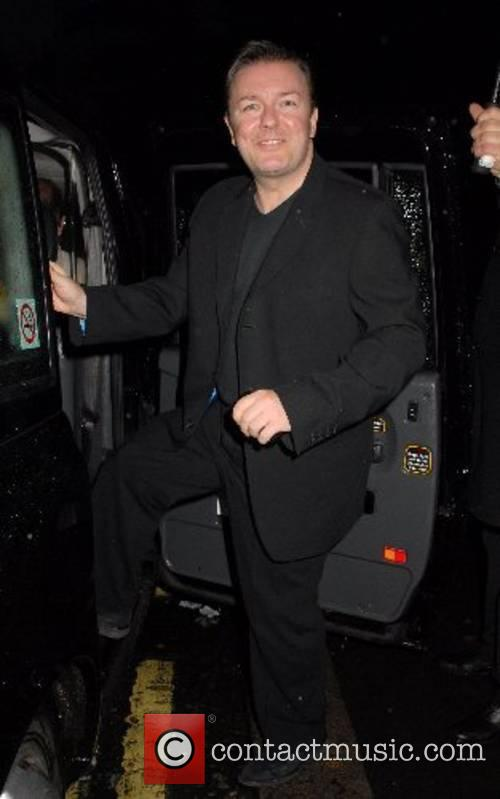 Ricky Gervais, The Ivy London
