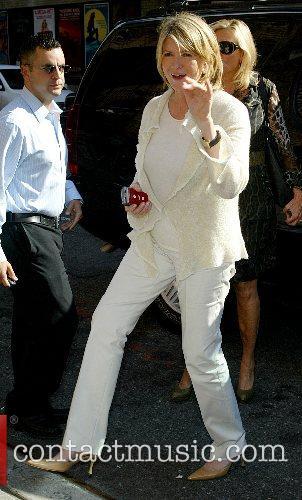 Martha Stewart and David Letterman 3