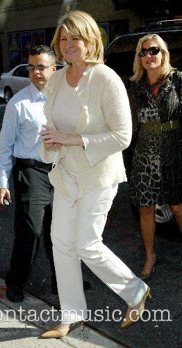 Martha Stewart and David Letterman 2