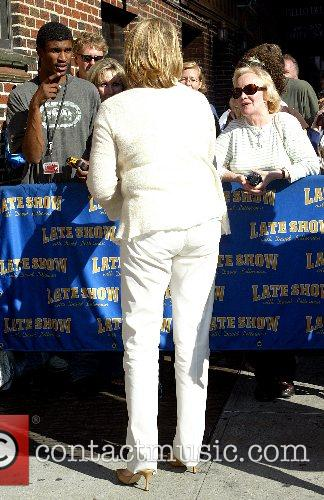 Martha Stewart and David Letterman 5