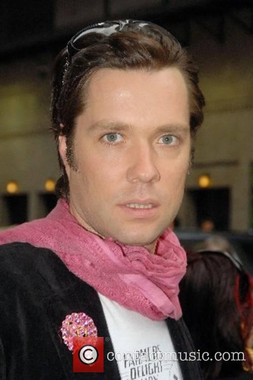 Rufus Wainwright outside Ed Sullivan Theatre for the...