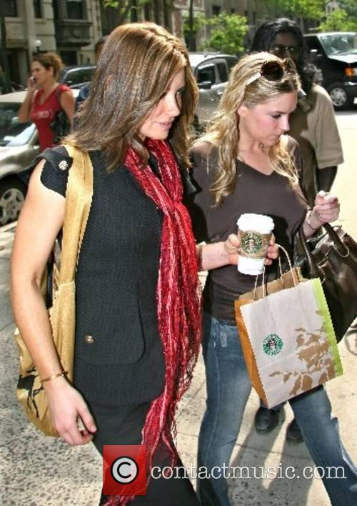 Evangeline Lilly arrives at ABC Studios for an...