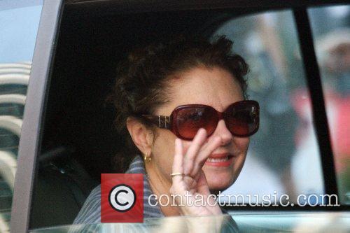 Susan Sarandon Celebrities visit the film set for...