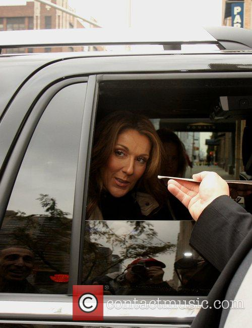 Celine Dion and The View 3