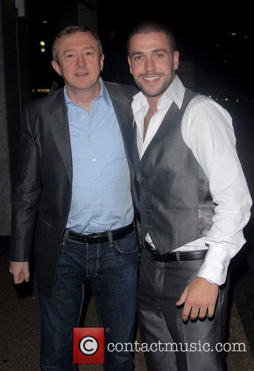 Louis Walsh and Celine Dion 3