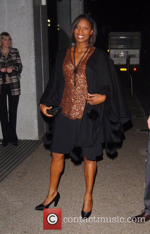 Denise Lewis 'An Audience With Celine Dion' at...
