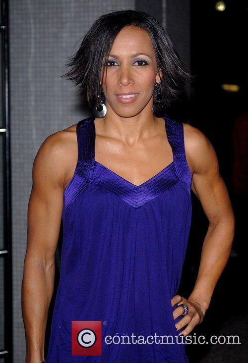 Kelly Holmes 'An Audience With Celine Dion' at...