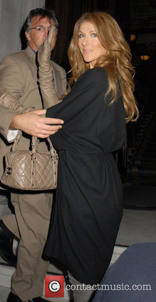Celine Dion Celine Dion and her husband Rene
