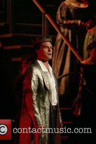 Harry Hamlin The cast of Shakespeare Theatre Company...