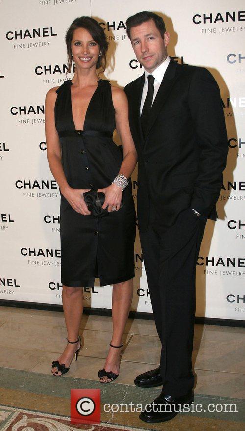 Christy Turlington and Ed Burns Chanel's Nuit de...