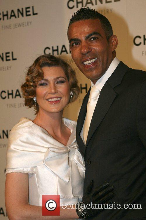 Ellen Pompeo and Chris Ivery Chanel's Nuit de...