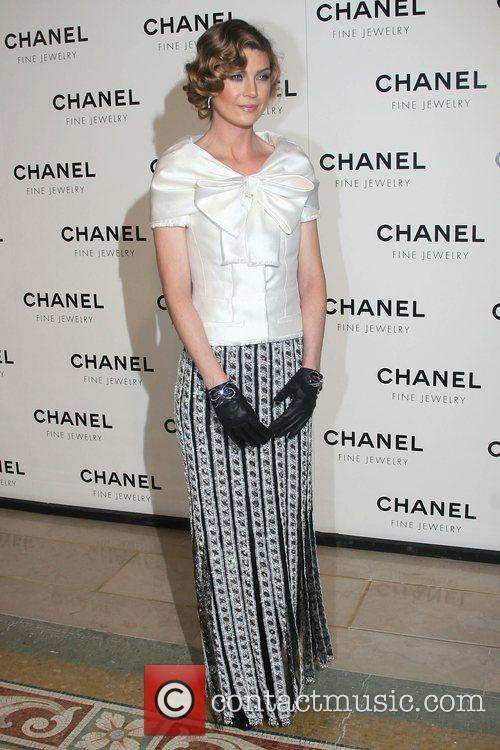 Ellen Pompeo Chanel's Nuit de Diamants at the...