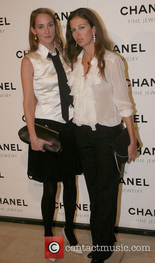 Guest and Chiara Clemente Chanel's Nuit de Diamants...