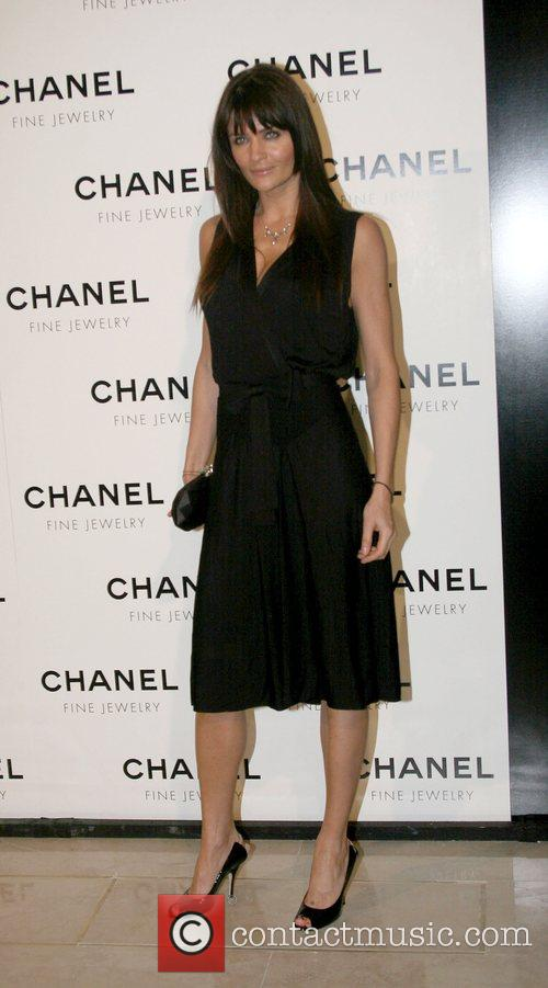 Helena Christensen  Chanel's Nuit de Diamants at...