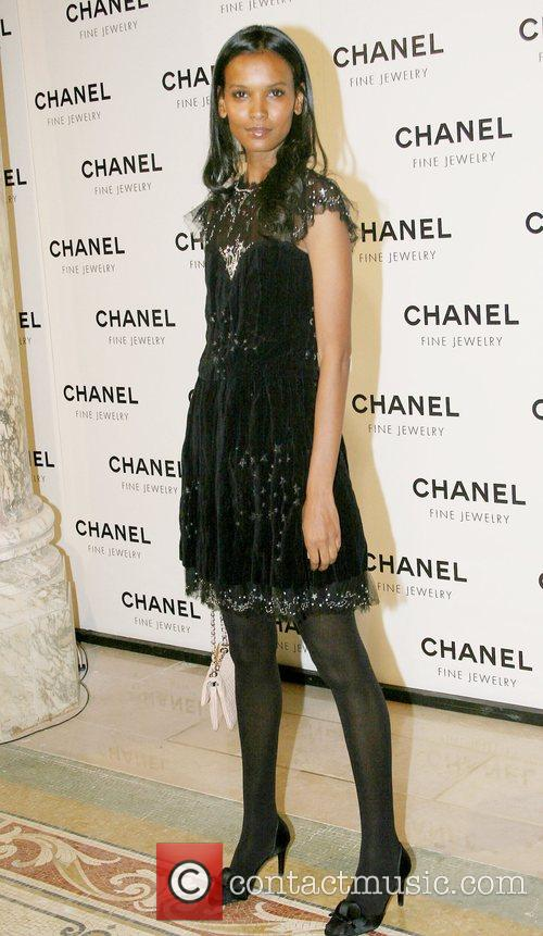 Liya Kebede Chanel's Nuit de Diamants at the...