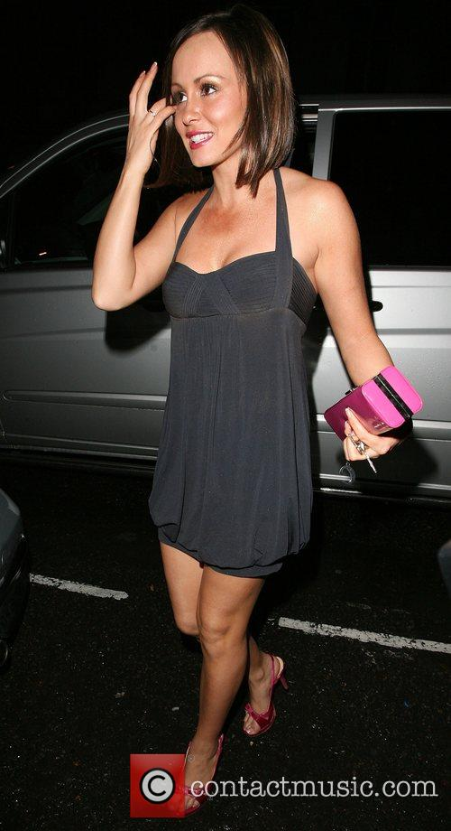 Chanelle Hayes returns home after spending the evening...