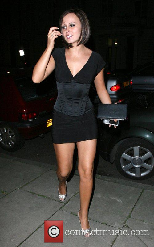 Chanelle Hayes arrives home at 4am looking rather...