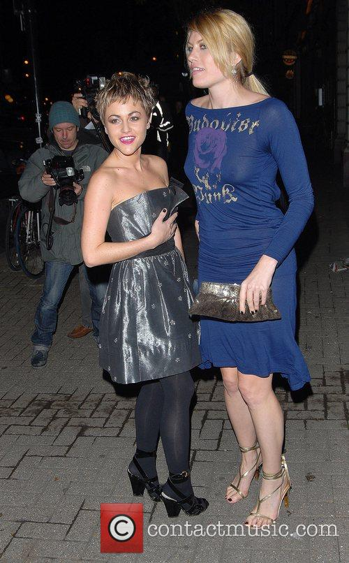Jaime Winstone & Meredith Ostrum Channel 4 &...