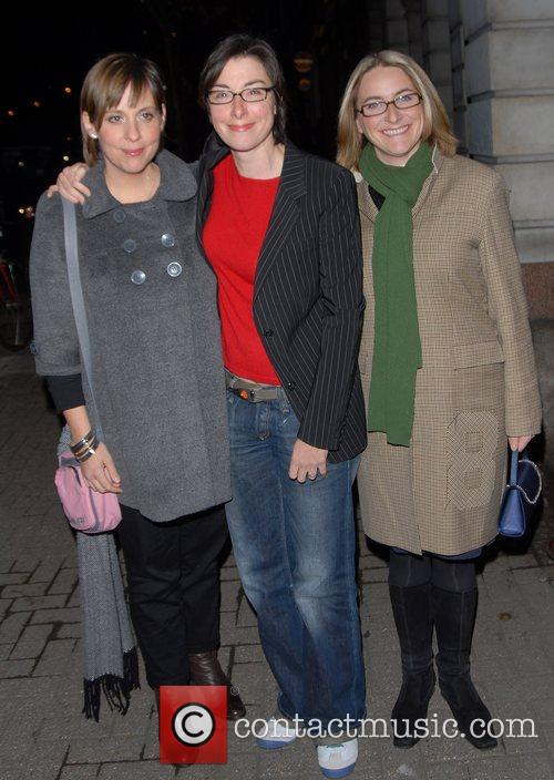Mel Giedroyc, Sue Perkins and Guest Channel 4...