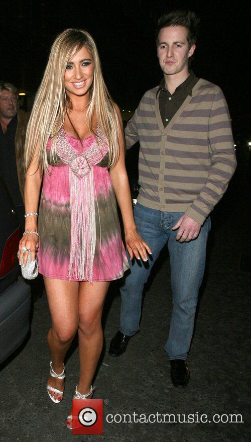 Chantelle Houghton and Jordan 9