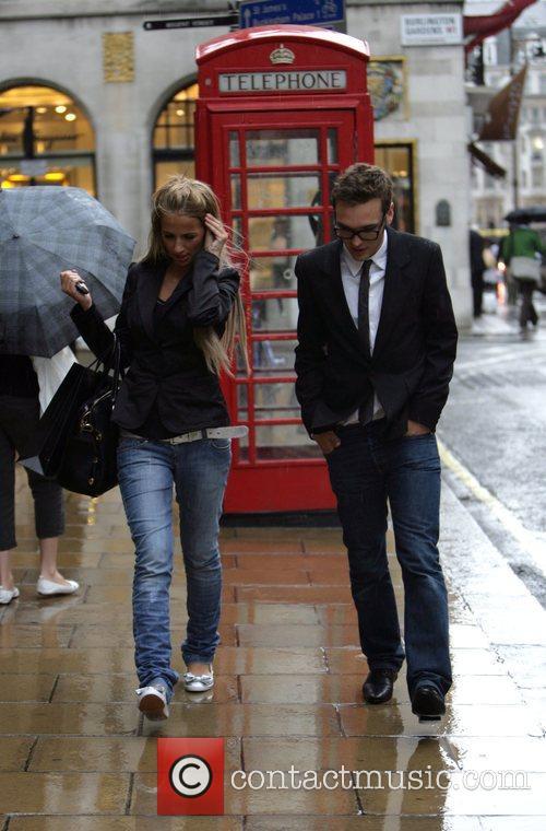 Seen together, walking up Bond Street after visiting...