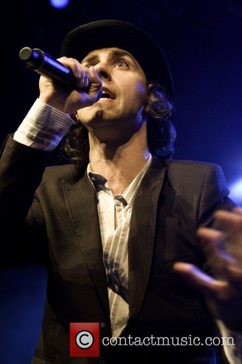 Paul Smith Maximo Park perform live at the...