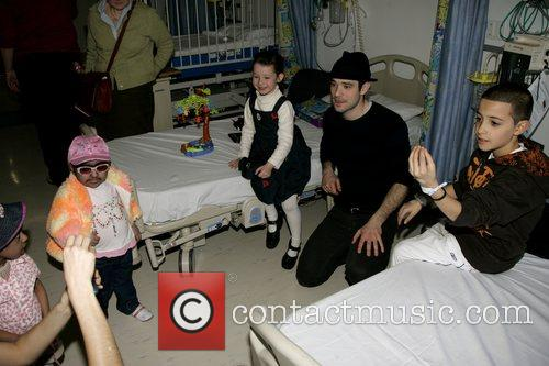 Charlie Cox, The Star Of Movie Stardust and Visits The Children's Ward At St. Mary's Hospital With An Ambassador Of The Starlight Children's Foundation 8