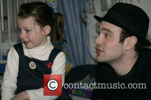 Charlie Cox, The Star Of Movie Stardust and Visits The Children's Ward At St. Mary's Hospital With An Ambassador Of The Starlight Children's Foundation 3