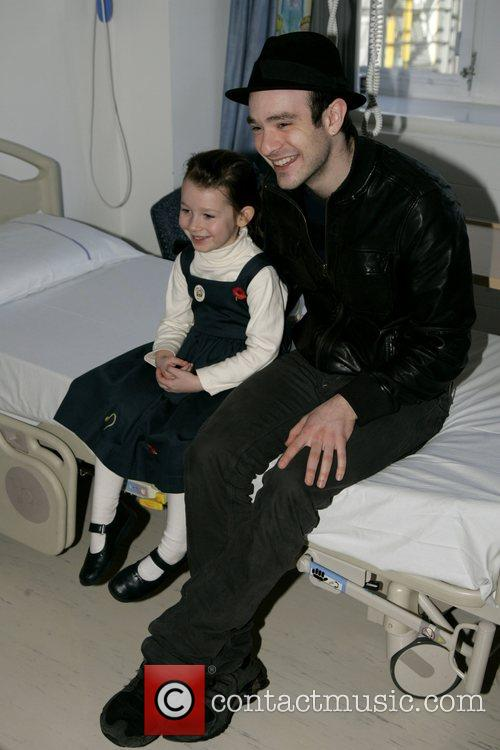 Charlie Cox, The Star Of Movie Stardust and Visits The Children's Ward At St. Mary's Hospital With An Ambassador Of The Starlight Children's Foundation 7
