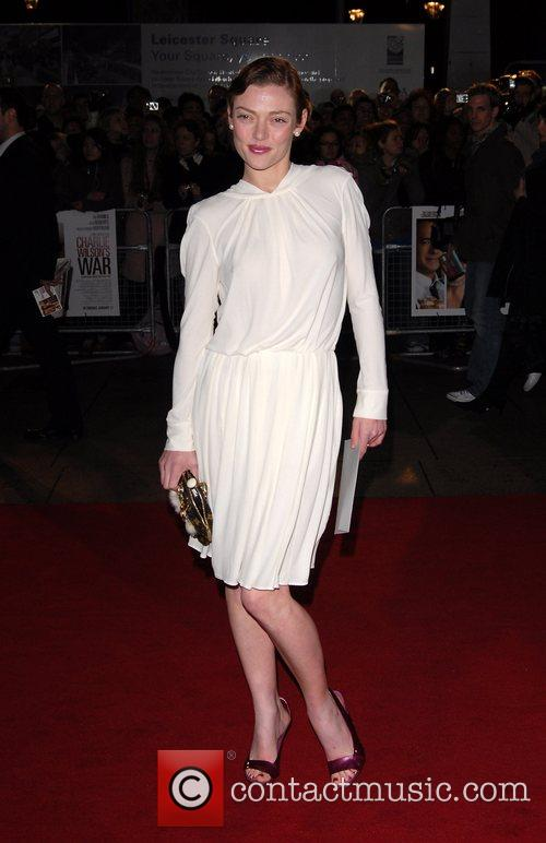 Camilla Rutherford UK Premiere of 'Charlie Wilson's War'...