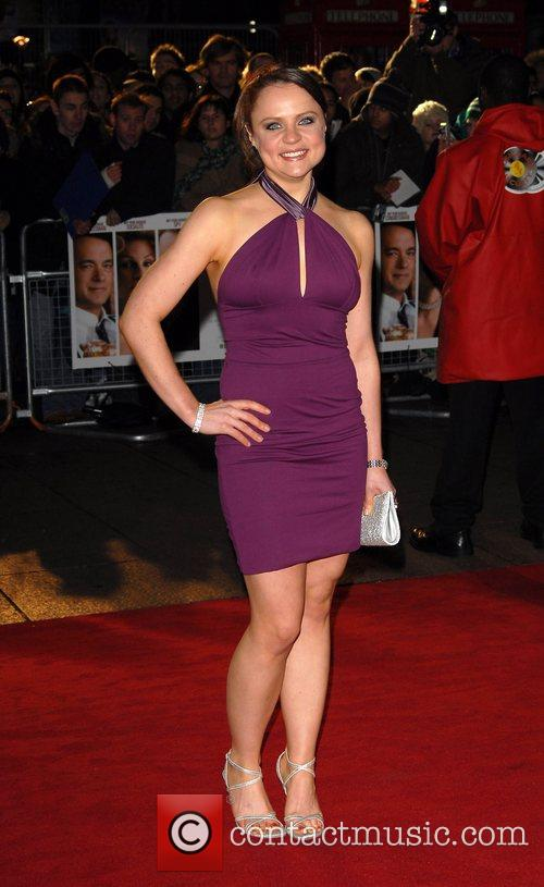 Vicky Binns UK Premiere of 'Charlie Wilson's War'...