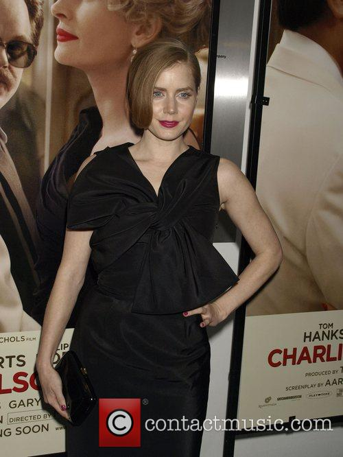 Amy Adams Premiere of 'Charlie Wilson's War' at...