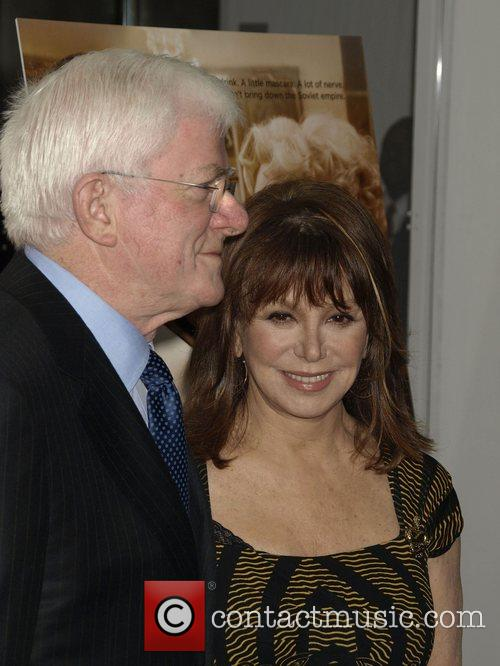 Phil Donahue and Marlo Thomas Premiere of 'Charlie...