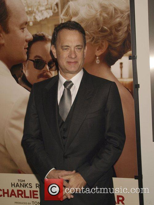 Tom Hanks Premiere of 'Charlie Wilson's War' at...