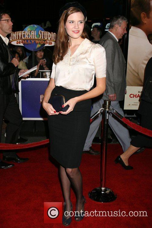 Maggie Grace World Premiere of 'Charlie Wilson's War'...