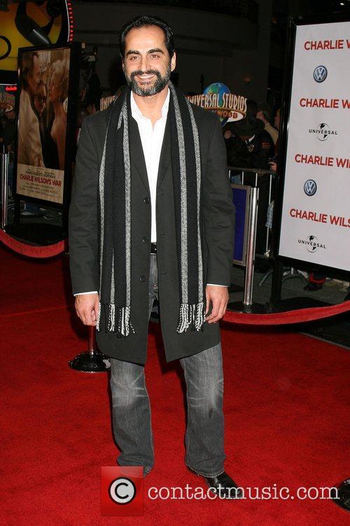 Navid Negahban World Premiere of 'Charlie Wilson's War'...